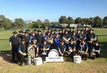 Townsville Brass at the 2018 Australian Nationals